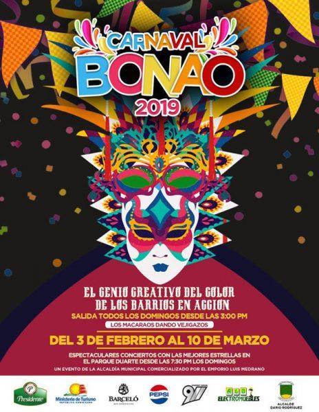 Carnaval Bonao Republica Dominicana / Dominican Republic Bonao Carnival Parade 2019