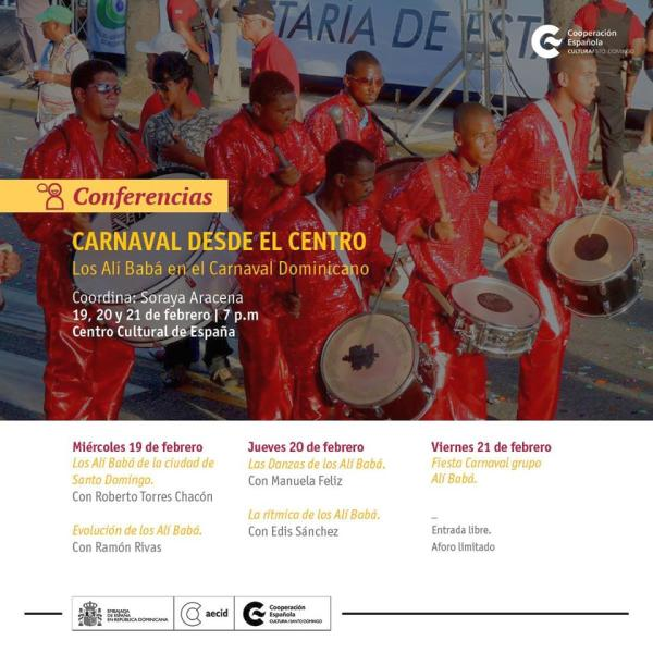Carnaval desde el Centro Cultural de España Los Alí Babá