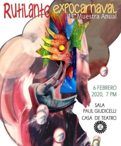 Expo Rutilante 2020 Casa De Teatro, Zona Colonial