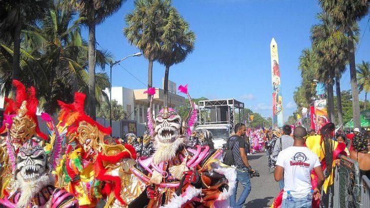 Carnival Dominicano on the Malecon of Santo Domingo