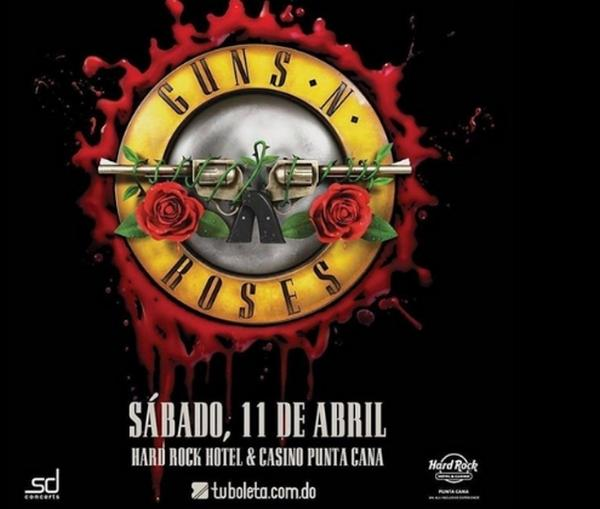 "Guns N' Roses ""Not In This Lifetime"" tour at the Hard Rock Punta Cana Hotel & Casino on April 11, 2020"