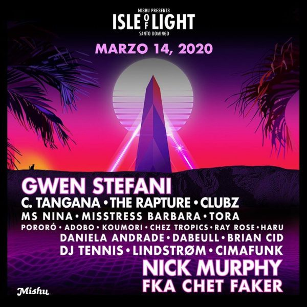 Isle of Light Festival Punta Torrecilla, Santo Domingo, Dominican Republic. March 14, 2020