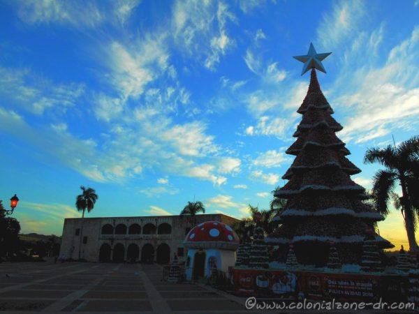 Christmas / Navidad Tree in Plaza España 2016
