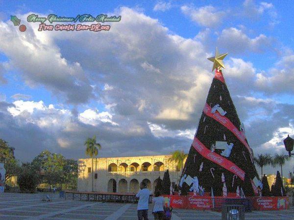 Christmas Tree in Plaza España 2007